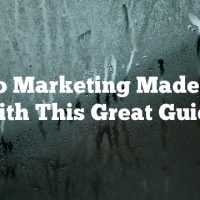Video Marketing Made Easy With This Great Guide