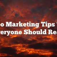 Video Marketing Tips That Everyone Should Read