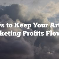 Ways to Keep Your Article Marketing Profits Flowing