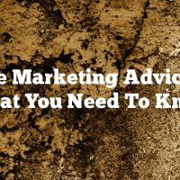 Article Marketing Advice And What You Need To Know