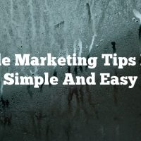 Article Marketing Tips Made Simple And Easy