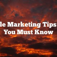 Article Marketing Tips That You Must Know