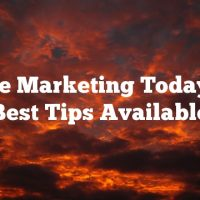 Article Marketing Today.  The Best Tips Available