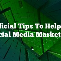 Beneficial Tips To Help Wtih Social Media Marketing