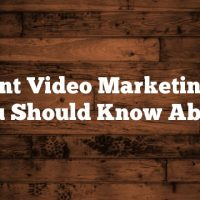 Brilliant Video Marketing Tips You Should Know About