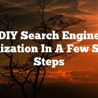 DIY Search Engine Optimization In A Few Simple Steps