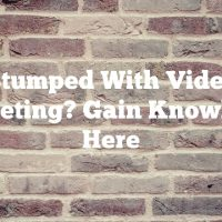 Stumped With Video Marketing? Gain Knowledge Here