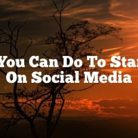 What You Can Do To Stand Out On Social Media