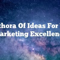 A Plethora Of Ideas For Video Marketing Excellence