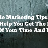 Article Marketing Tips That Can Help You Get The Most Out Of Your Time And Work