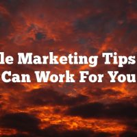 Article Marketing Tips That Can Work For You