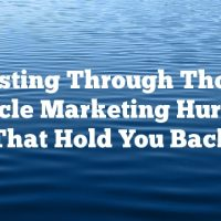 Busting Through Those Article Marketing Hurdles That Hold You Back