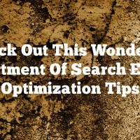 Check Out This Wonderful Assortment Of Search Engine Optimization Tips