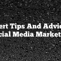 Expert Tips And Advice In Social Media Marketing