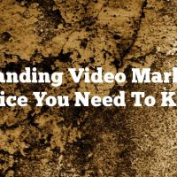 Outstanding Video Marketing Advice You Need To Know