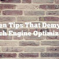 Proven Tips That Demystify Search Engine Optimization
