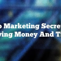 Video Marketing Secrets For Saving Money And Time