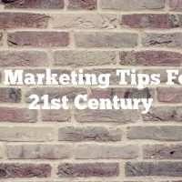 Video Marketing Tips For The 21st Century