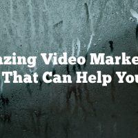 Amazing Video Marketing Tips That Can Help You Out