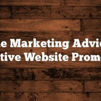 Article Marketing Advice For Effective Website Promotion