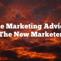 Article Marketing Advice For The New Marketer