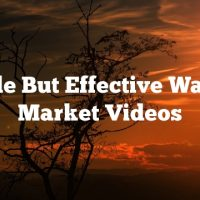 Simple But Effective Ways To Market Videos