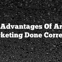 The Advantages Of Article Marketing Done Correctly