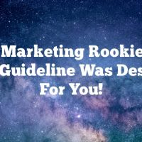 Video Marketing Rookie?  This Basic Guideline Was Designed For You!