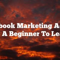 Facebook Marketing Advice For A Beginner To Learn
