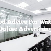 Good Advice For Writing Online Advertising