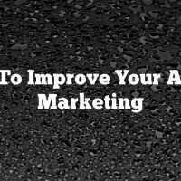 How To Improve Your Article Marketing