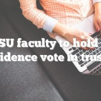 MSU faculty to hold no confidence vote in trustees