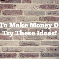 Want To Make Money Online? Try These Ideas!