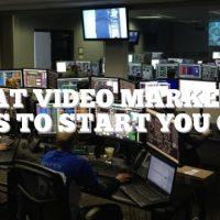 Great Video Marketing Tips To Start You Out