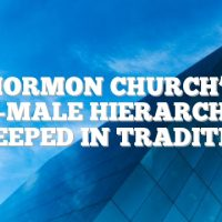 Mormon church's all-male hierarchy is steeped in tradition