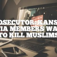 Prosecutor: Kansas militia members wanted to kill Muslims