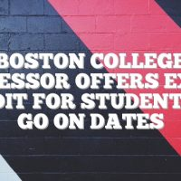 Boston College professor offers extra credit for students to go on dates