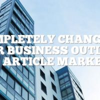 Completely Changing Your Business Outlook With Article Marketing