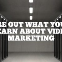 Figure Out What You Can Learn About Video Marketing