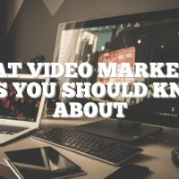 Great Video Marketing Tips You Should Know About