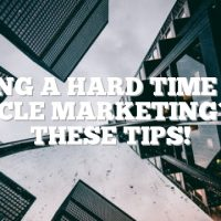 Having A Hard Time With Article Marketing? Try These Tips!