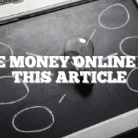 Make Money Online With This Article