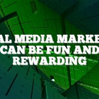 Social Media Marketing Can Be Fun And Rewarding