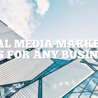 Social Media Marketing Tips For Any Business
