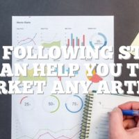 The Following Steps Can Help You To Market Any Article
