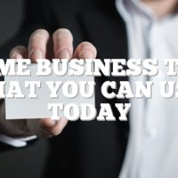 Home Business Tips That You Can Use Today
